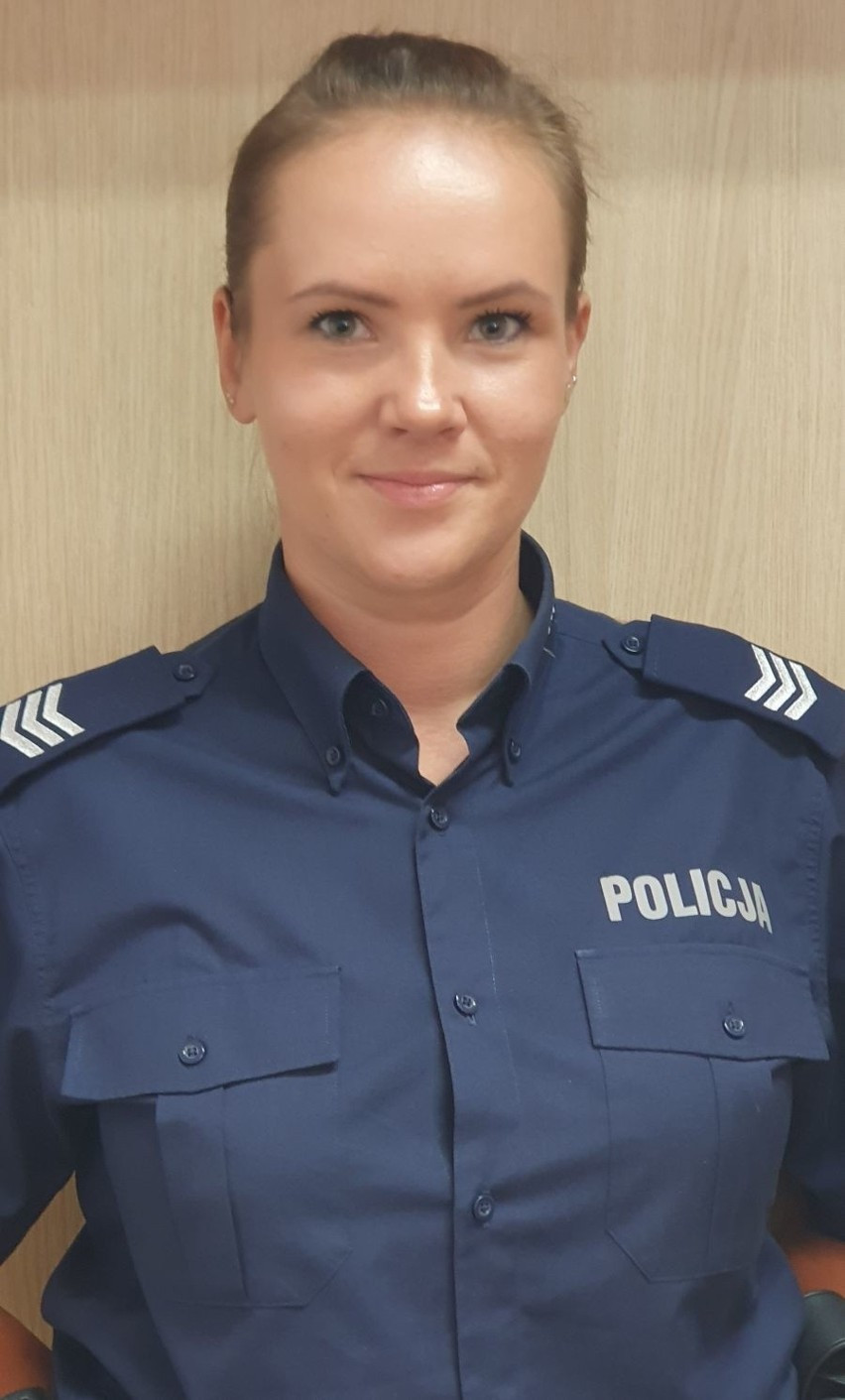 sierż. szt. Sandra Skiepko...