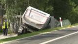 Białystok. Konwój żałobny ciężarówek przejedzie przez miasto. Pożegnają kierowcę zmarłego w tragicznym wypadku pod Mińskiem Mazowieckim