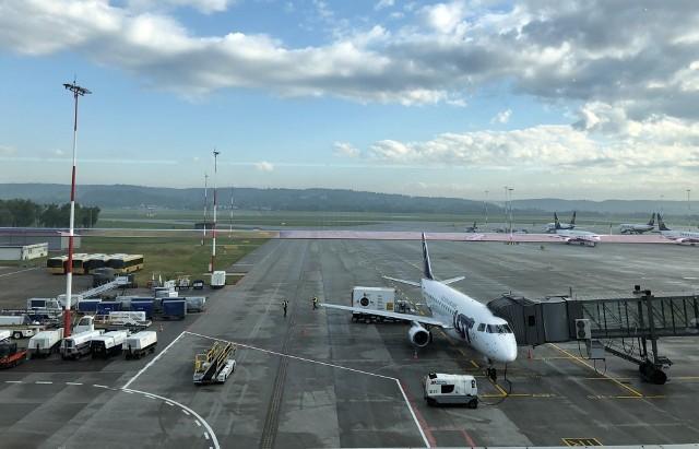 Pierwszy po pandemii rejsowy samolot wyleciał z Kraków Airport do Gdańska 1 czerwca o 7.50.