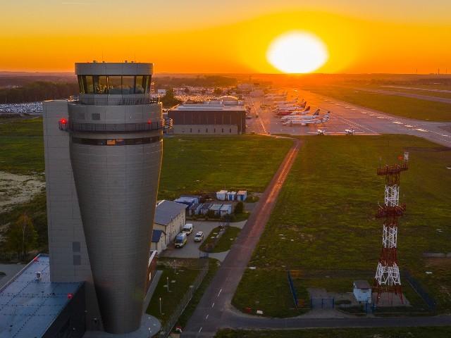 Nowa wieża kontroli lotów w Pyrzowicach będzie najwyższa w Polsce.