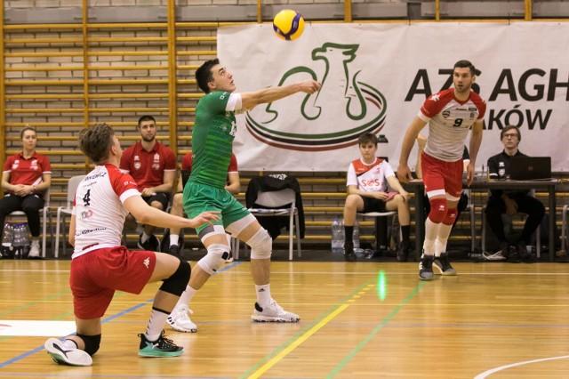 Siatkarze AZS AGH Kraków zajęli 8. miejsce w I lidze