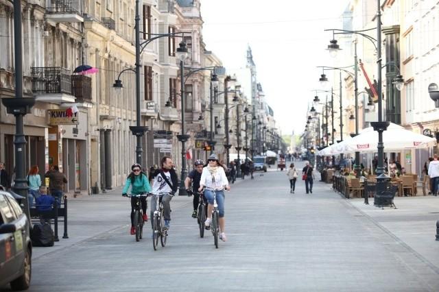 Łódź kojarzona jest w kraju z ul. Piotrkowską...