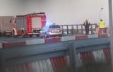 Śmiertelny wypadek na zjeździe z S8 na A1 pod Łodzią. Zginął motocyklista ZDJĘCIA