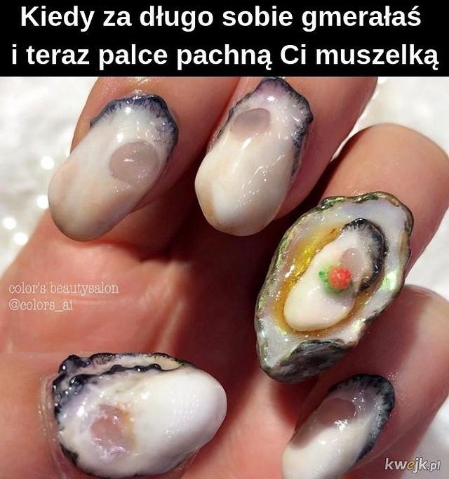 MEMY o paznokciach. Najśmieszniejsze obrazki na Dzień Stylisty Paznokci