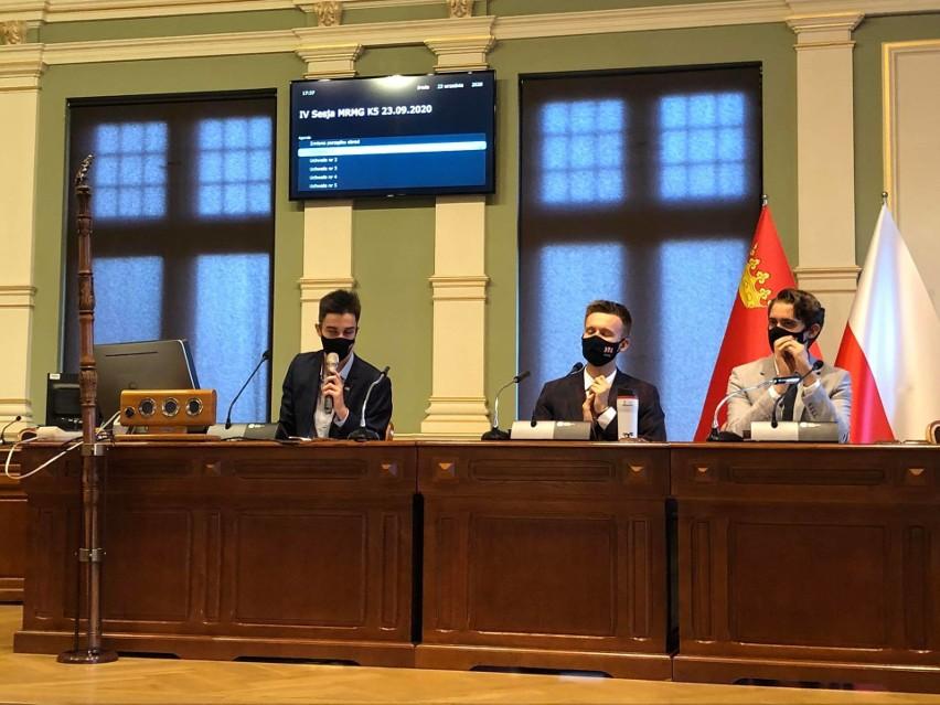 Podczas pierwszej powakacyjnej sesji Młodzieżowej Rady Miasta Gdańska w środę, 23.09.2020 r. w jej składzie zaszły małe zmiany