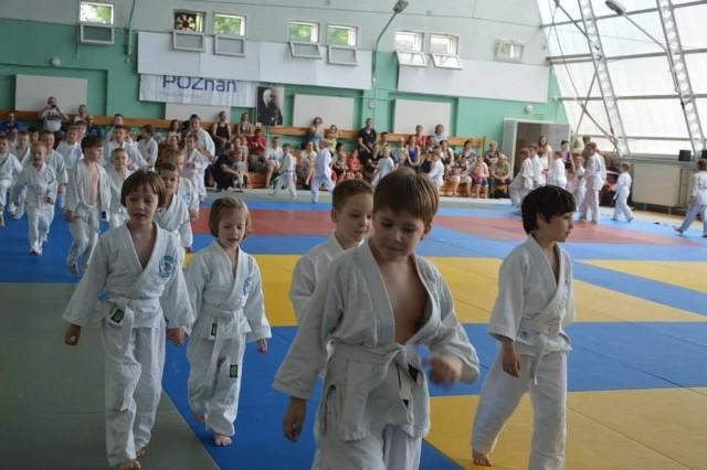 Uczestnicy kolejnej edycji Poznańskiej Dziecięcej Ligi Judo