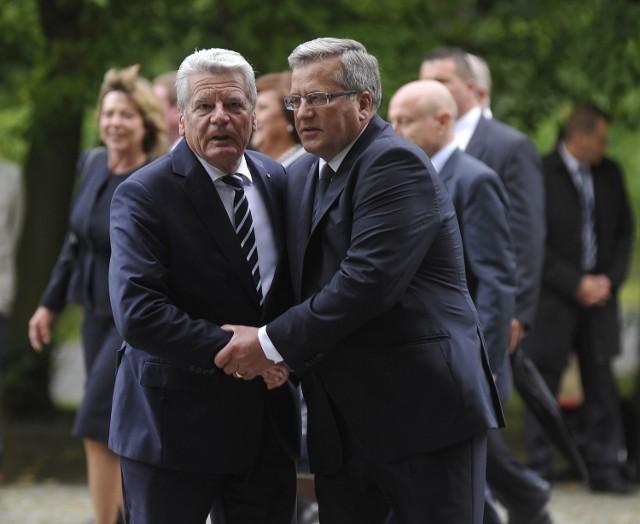 1 września na Westerplatte z Bronisławem Komorskim spotkał się Joachim Gauck, prezydent Niemiec.
