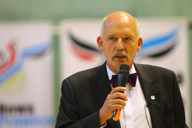 Janusz Korwin-Mikke w Poznaniu