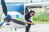 Już nie tylko samochody i hulajnogi elektryczne. Czas na pierwszy w Polsce przelot samolotu elektrycznego. Zobacz jak wyglądał.