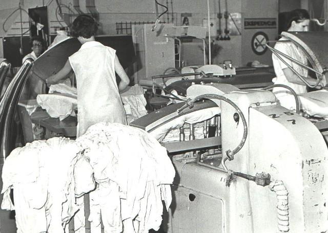 1978 r., kombinat pralniczy, wydział prania bielizny