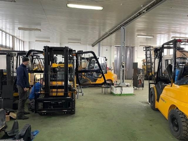 Jedną z firm działających w Szydłowcu jest Toolmex Truck. To lider z branży wózków widłowych.