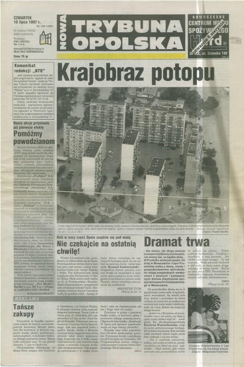 10 lipca 1997 na pierwszej stronie NTO ostrzegaliśmy...