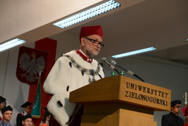 Prof. Tadeusz Kuczyński, rektor Uniwersytetu Zielonogórskiego.