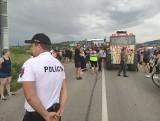 Chochołów. Protest na granicy słowacko-polskiej. Słowacy są przeciwni decyzjom swojego rządu