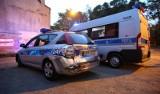 Policjanci ranni w wypadku na Bałutach [zdjęcia]