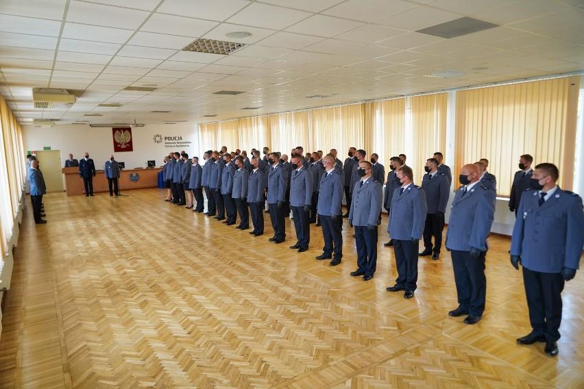 """Zdjęcia z uroczystości  wręczenia """"Kryształowych Serc"""" w KWP..."""