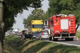 Groźny wypadek pod Wrocławiem. Jedna osoba ranna