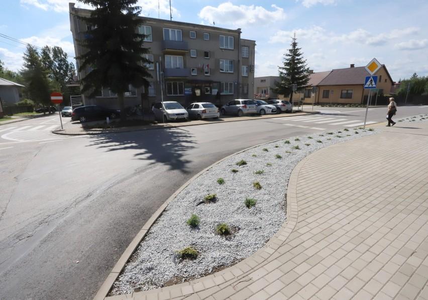 Remont ulic w centrum Kazanowa kosztował prawie 150 tysięcy złotych.