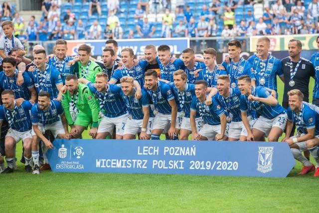 Efektowna wygrana 4:0 zapewniła Lechowi wicemistrzostwo Polski. Zobacz więcej zdjęć ----->