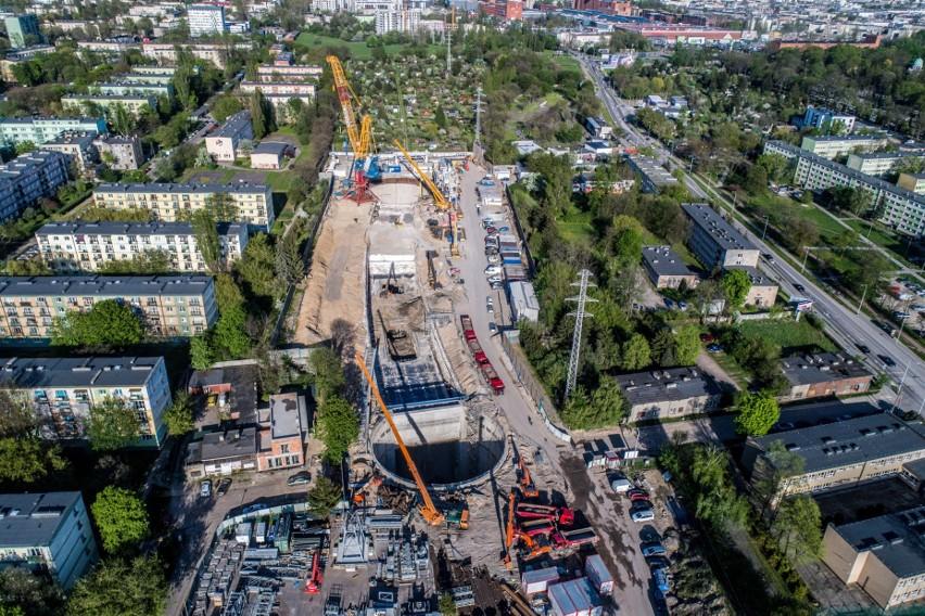 Teren budowy w rejonie ul. Kasprzaka