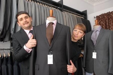 Monika i Bartosz Jankowscy spełniają marzenia o własnym biznesie. Wymyślili markę odzieżową dla mężczyzn (fot. Krzysztof Kubasiewicz)