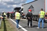 Autostrada A2: Wypadek. Karambol - jest kilka osób poszkodowanych. Droga była zablokowana