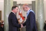 Krakowski historyk prof. Andrzej Nowak odznaczony Orderem Orła Białego