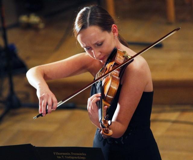 Jedną z solistek koncertu Szymanowskiego Chcemisie będzie wybitna polska skrzypaczka Agata Szymczewska