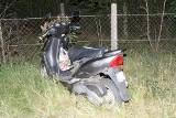 Pijany motorowerzysta wiózł pijanego pasażera i spowodował wypadek w Niedoradzu. Grozi mu kara do 5 lat więzienia