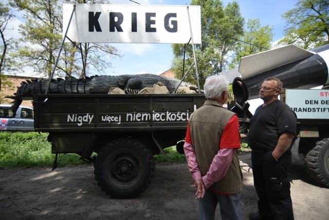 Pojazdy militarne przejechały przez Sosnowiec