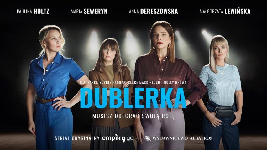 """Serial audio """"Dublerka"""" składa się z dziesięciu odcinków, które są dostępne w aplikacji Empik Go"""