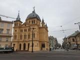 Złodziej w kościele przy placu Wolności w Łodzi. Policja prosi o pomoc