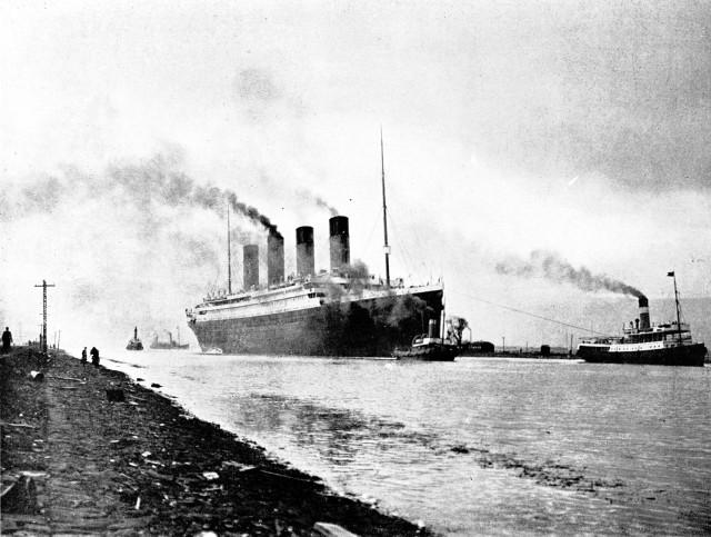 """""""Titanic"""" został zbudowany w nieistniejącej już dziś stoczni Harlanda i Wolffa w Belfaście i zwodowany 31.05.1911 roku"""