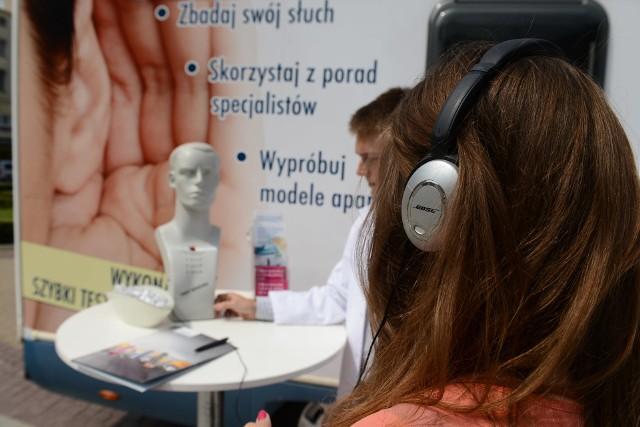 Bezpłatne badanie słuchu we Włocławku można będzie zrobić od 17 do 21 maja