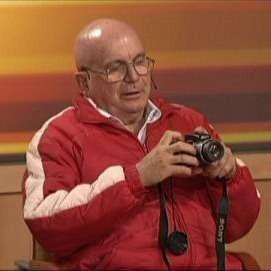 Pan Władysław w czasie nagrania programu.