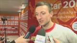 Andrzej Rojewski o wygranej w meczu Polska - Rosja: - Nasza forma rośnie. Wynik meczu 26:25 (FILMY)