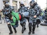 Kolejne wielkie demonstracje w Rosji. Ponad 60 tys. osób na ulicach. 136 aresztowanych