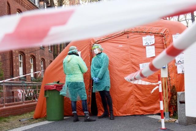 Początki koronawirusa w Lubuskiem. Miejsce: Zielona Góra