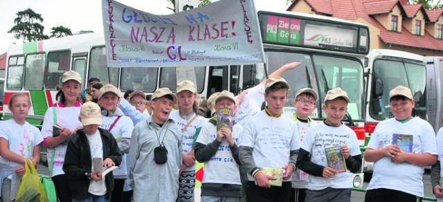 Tym razem prezentujemy klasę szóstą ze Szkoły Podstawowej w Brodach (gmina Sulechów).