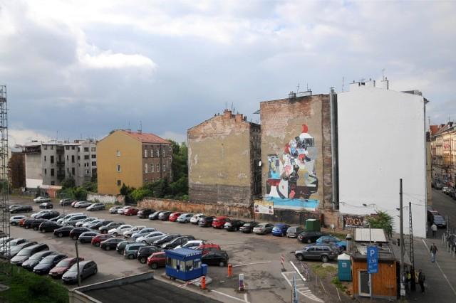 Jednym z naszych projektów jest plan budowy parku i placu zabaw między ul. Karmelicką a biblioteką wojewódzką.