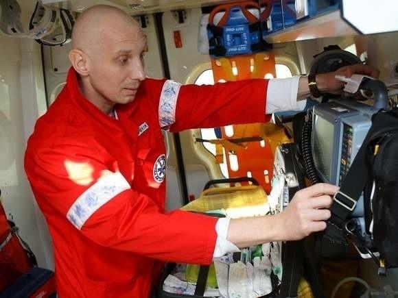 Krzysztof Banach pracował jako ratownik medyczny w Słupsku, potem w Szczecinie