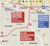 Nie dokończą wschodniej obwodnicy Wrocławia? Będzie droga lokalna (MAPA)