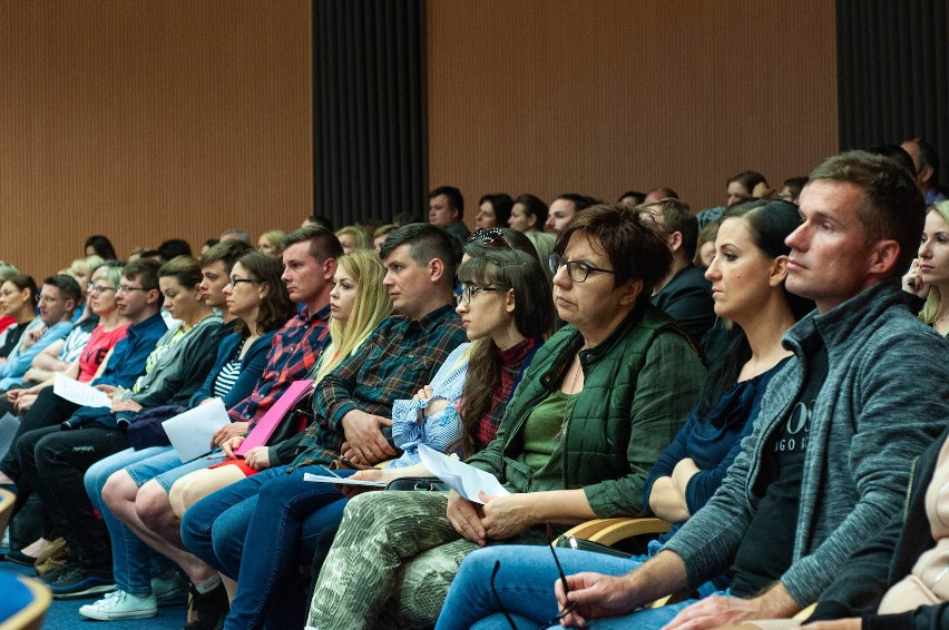 zdjęcie ilustracyjne, konferencja dot. SM