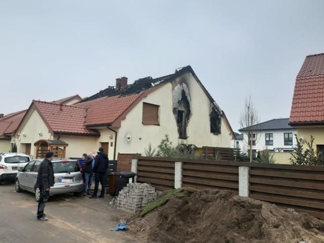Tragiczny pożar na Krzekowie w Szczecinie