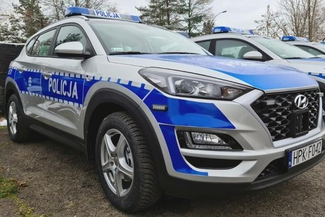 Nowe samochody dla podkarpackiej policji.