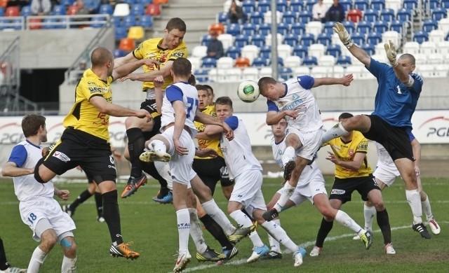 Łukasz Zaniewski pierwszego gola dla Resovii raczej nigdy nie zapomni.