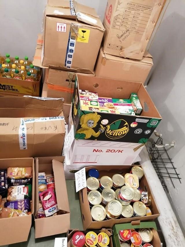 Świąteczna Zbiórka Żywności 2019 w Kadzidle