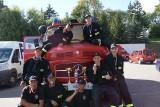 Strażacy z Przechowa zbierają pieniądze na nowy wóz. Ich stary mercedes ma 46 lat