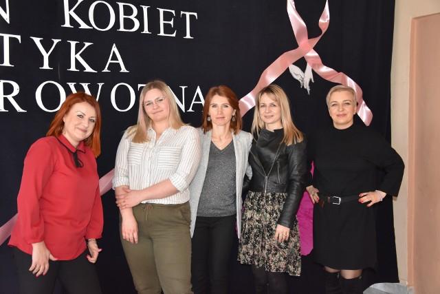 Inicjatorki akcji Anna Tomaszewska, Anna Gębura, Dorota Borecka, Magdalena Rafalska i Magdalena Majewska.
