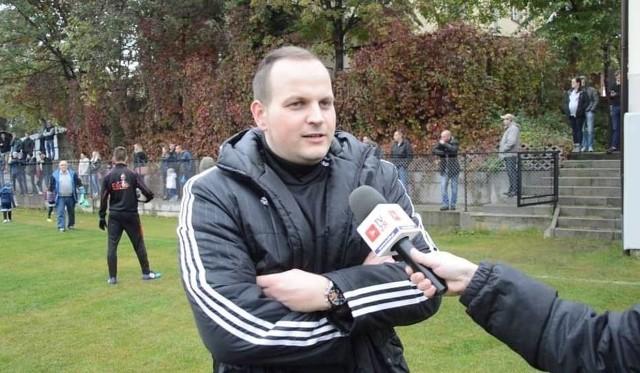 Trener Wojciech Tajduś